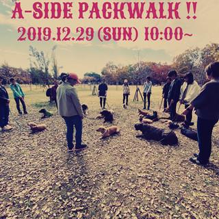 2019.12.29 (SUN)【第61回 A-SIDEパックウォーク】参加者募集します!