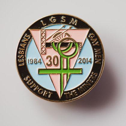 LGMS 30th Anniversary Enamel Badge