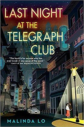 Last Night at the Telegraph Club by Malinda Lo - European Shipping