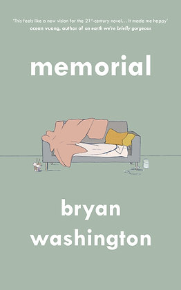 Memorial by Bryan Washington - UK Shipping
