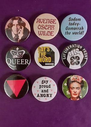 LGBT Badges - assorted