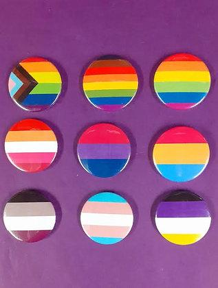Flag Badges - assorted