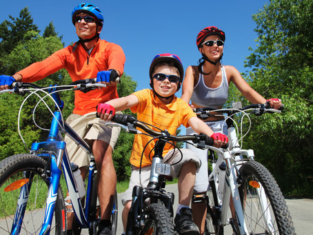 My Tips for Bicycling with Young Ones & Using a Bike Trailer