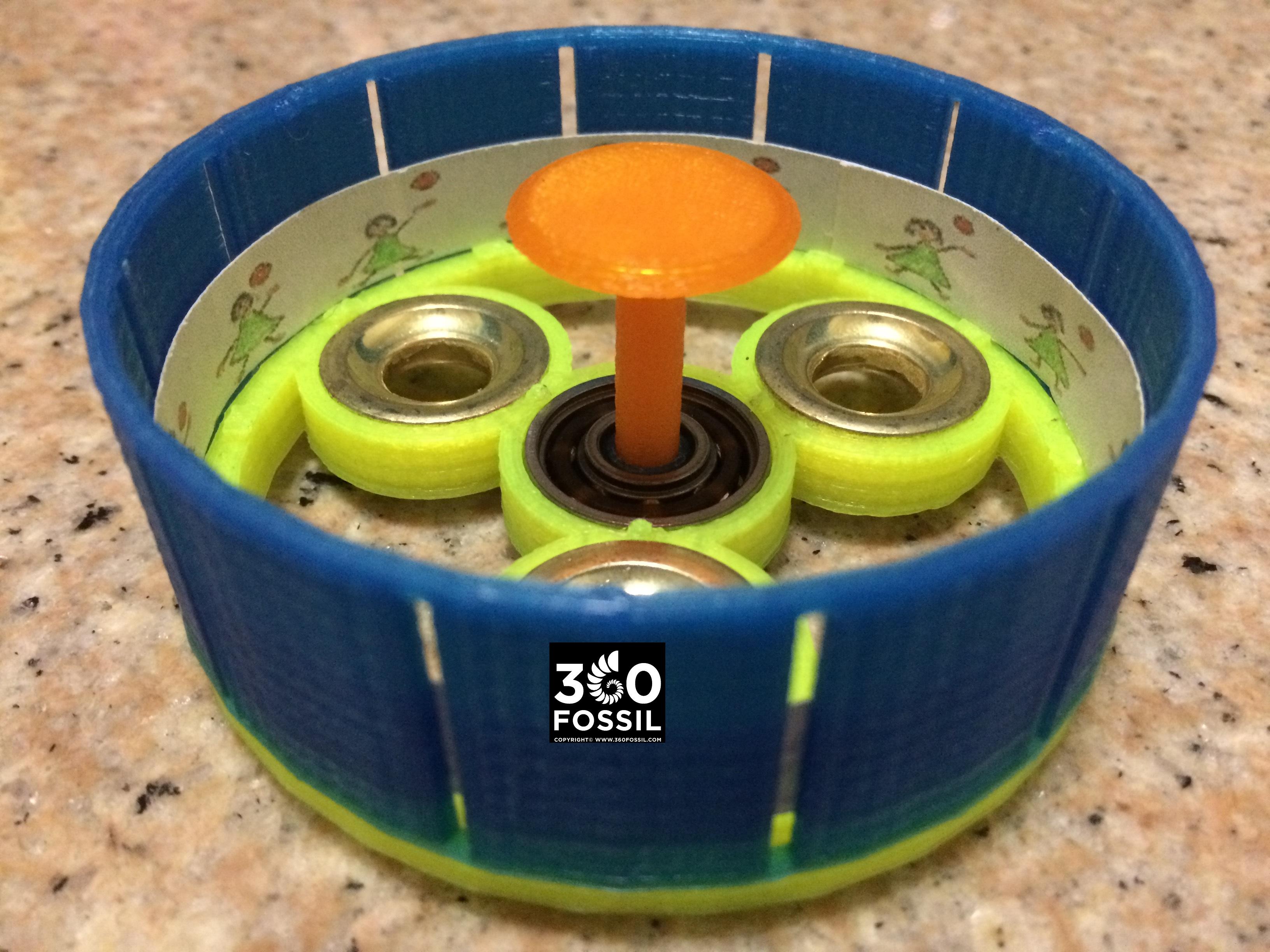 zoetrope fidget spinner