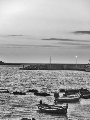 Sicile, au port