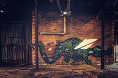 Dragon verrerie
