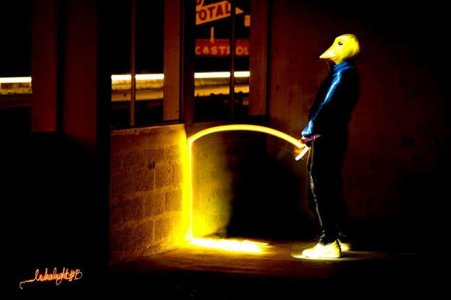 Pisse of duck - Contre collage sur dibon