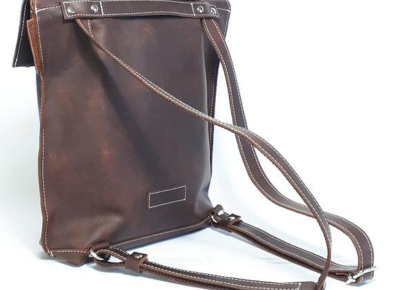 MyNature BackpackShoulderBag Marrone