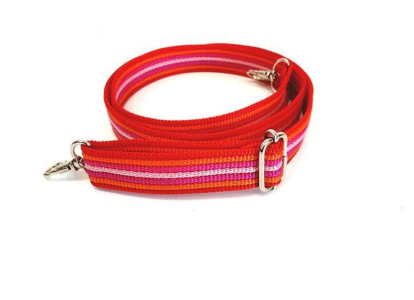 Schouderband Red&Pink