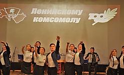 Степные напевы с праздничным концертом, посвящённым 100-летию со дня образования комсомола