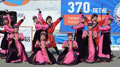 Степные напевы поздравляют пожарную службу Иркутской области с 370 летием