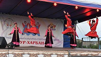 Детский Сур-Харбан в Новонукутске