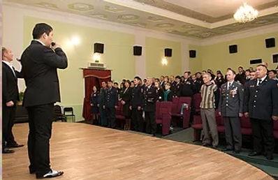 Праздничный концерт к дню полиции