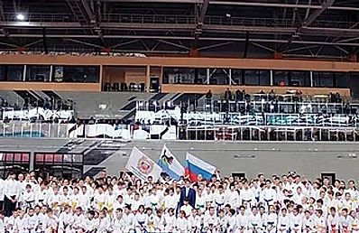 Первенство России по дзюдо в Иркутске открыли Степные напевы