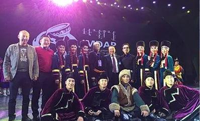II международныйконкурсмонгольского танца IMDAP в Китае Ансамбль «Степные напевы» привёз бронзу