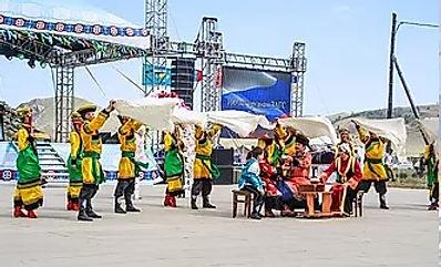 Свадебный обряд на Ердынских играх