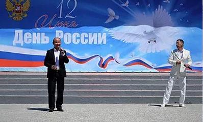 В День России Степные напевы провели праздничный концерт