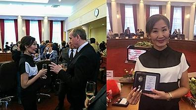 Хусаева Людмила Виктровна Заслуженный работник культуры и искусства Иркутской области