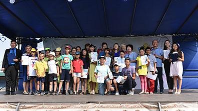 Конкурс детского творчества на детском Сур-Харбане