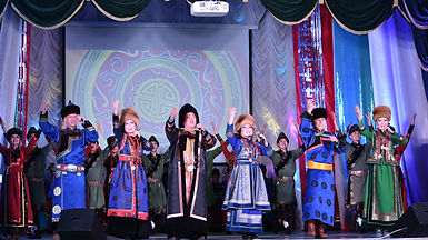 Степные напевы в Усть-Орде