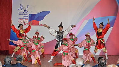 Степные напевы поздравили с 25 летиеЗаконодательногособрания Иркутской области