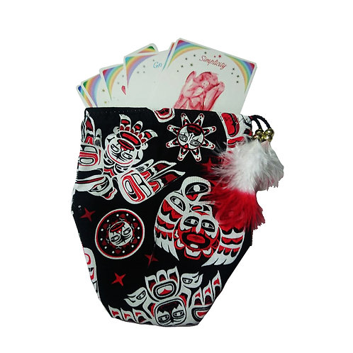 Native Red / White - Bag Black