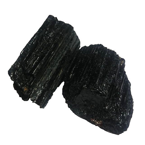 Tourmaline Black Crystal Chips - (1 Chunk)