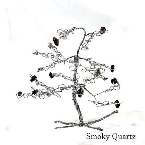 Smokey Quartz Crystal Tree