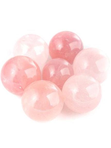 Rose Quartz Small Sphere (1 sphere)