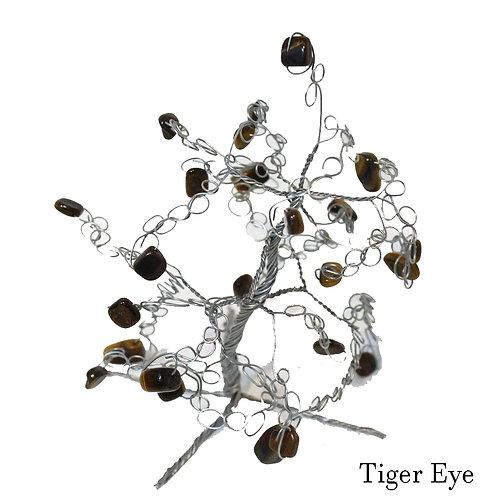 Tigers Eye Crystal Tree