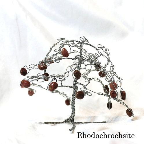 Rhodochrosite Crystal Tree