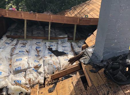Roof Repair Job