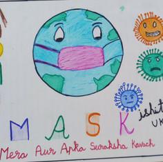 Importance of Mask by Ishitha Bellary