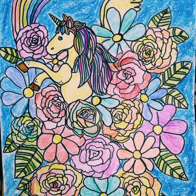 I believe in unicorns by Kaamya Agrawal