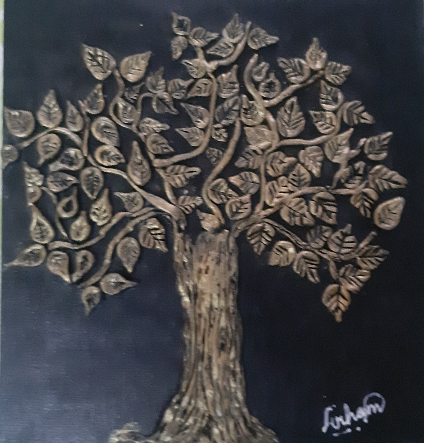 Mural Art Tree by Arham, 8 Years,