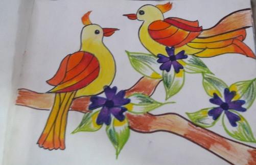 Lovebirds by Aarya Dharmadhikari