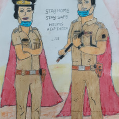 Covid Warriors by Shiva Harshil Reddy Ch