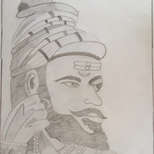 Sketching Drawing by Vihaan Ladha