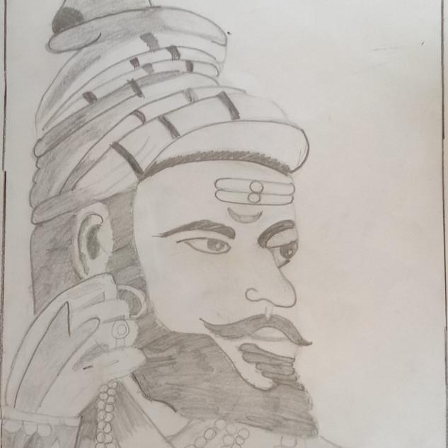 Sketching Drawing by Vihaan Ladha