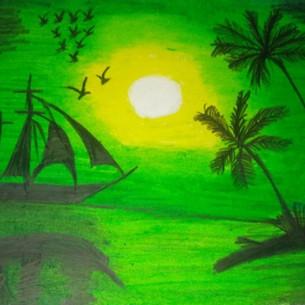 A scenery by G.SREYA