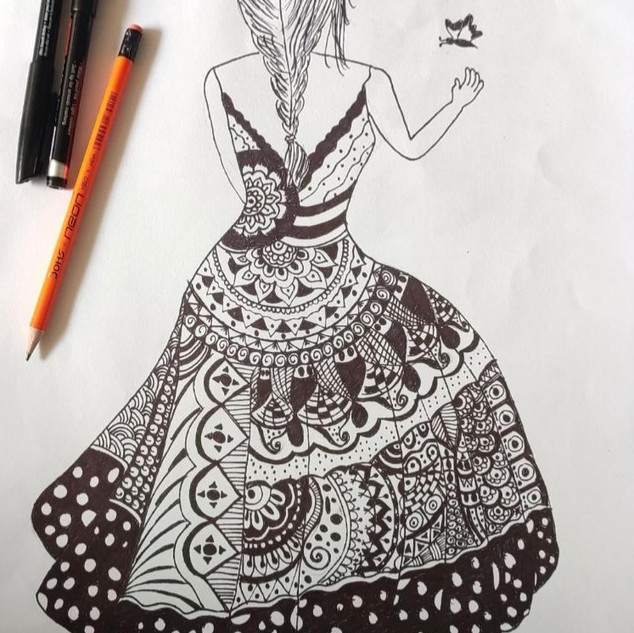 A girl by G.Priya