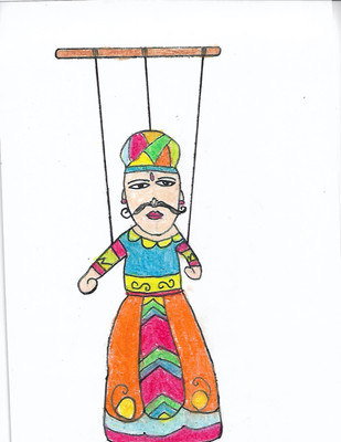 Ansh Jhamb - Kathputli. India Rajasthani