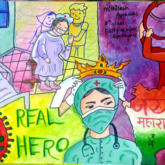 Salute to Doctors by Mithilesh Agrawal