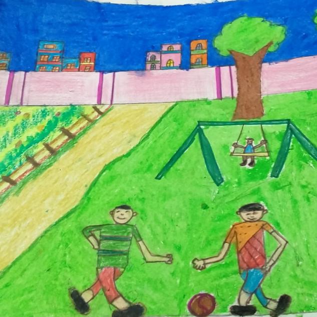 Fun time at play by Aaryan Jain