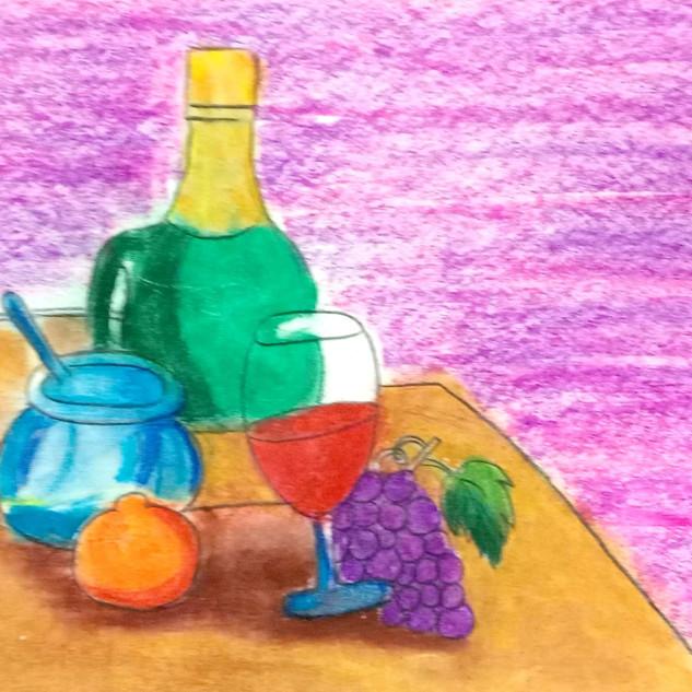 My breakfast table by Aarna Kakkar