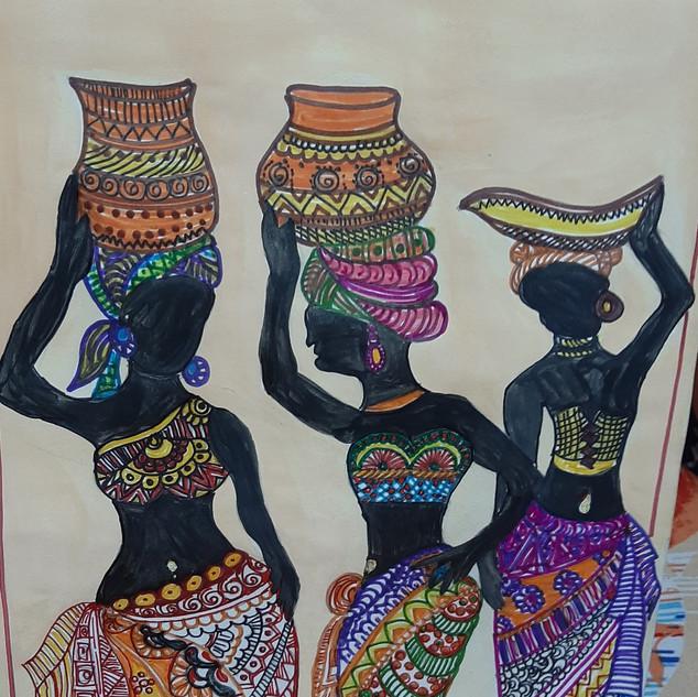Zentangle Painting by Sakshi Khatri