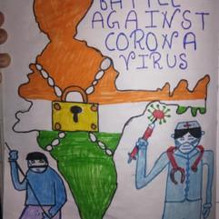 My fight against Covid by Rakshita_edite