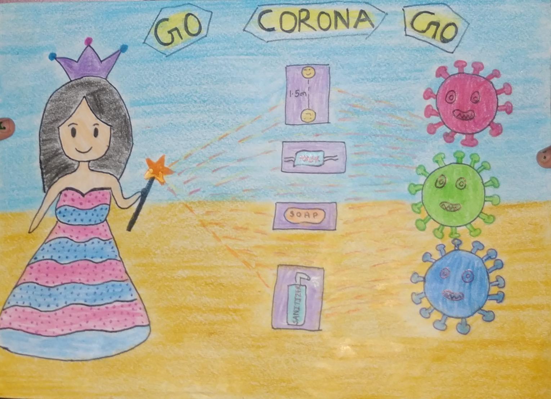 Corona by Kashvi, Under 8