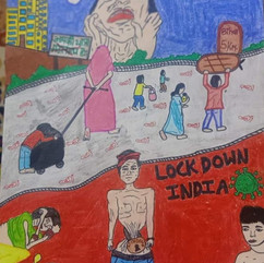 Lockdown in india in Bhoomika Pandey