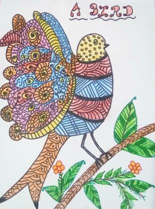 A Bird by Navya Warikoo